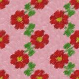 Fondo generado inconsútil de la textura de los clips de papel de la flor Fotografía de archivo libre de regalías