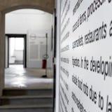 Fondo generico della galleria di arte Immagini Stock Libere da Diritti