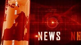 Fondo generico di notizie stock footage