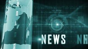 Fondo generico di notizie video d archivio
