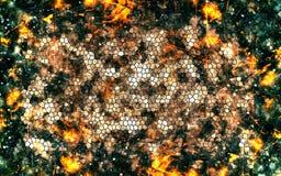 Fondo geométrico Fotos de archivo libres de regalías