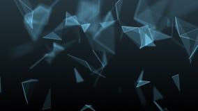 Fondo geométrico abstracto almacen de metraje de vídeo