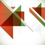 Fondo geométrico abstracto Fotos de archivo libres de regalías