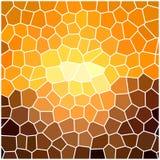 Fondo geométrico abstracto Stock de ilustración