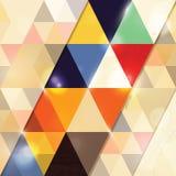 Fondo geométrico abstracto Fotografía de archivo