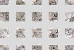 Fondo geométrico abstracto colorido con los cuadrados Imagen de archivo