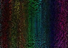 Fondo geométrico abstracto colorido con los polígonos del rectángulo ilustración del vector