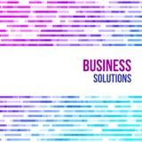 Fondo geométrico abstracto colorido del negocio Mosaico al azar de la violeta, rosadas y azules de las formas geométricas Imágenes de archivo libres de regalías