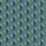 Fondo geométrico abstracto con los cubos Imagen de archivo libre de regalías