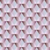Fondo geométrico abstracto con los cubos Imágenes de archivo libres de regalías