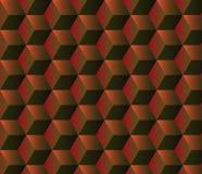 Fondo geométrico abstracto con los cubos Imagenes de archivo
