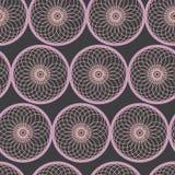 Fondo geométrico abstracto con los pescados Imagenes de archivo