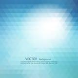 Fondo geométrico abstracto con los triángulos transparentes Diseño del folleto del ejemplo del vector libre illustration