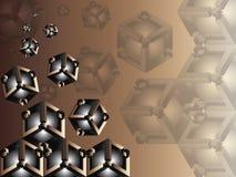 fondo geométrico abstracto 3d Foto de archivo