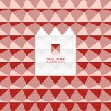 Fondo geométrico abstracto 3D vector 3d Ilustración del Vector