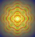 Fondo geométrico abstracto de la plantilla Ilustración del vector Imagenes de archivo