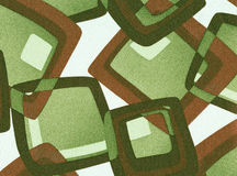 Fondo geométrico abstracto de la vendimia. Fotografía de archivo libre de regalías
