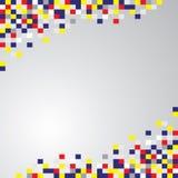 Fondo geométrico abstracto de los cuadrados Fotos de archivo libres de regalías