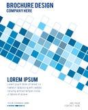 Fondo geométrico abstracto de los cubos para su diseño Vector la enfermedad Foto de archivo