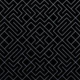 Fondo geométrico abstracto de plata del modelo con textura de la malla del brillo Vector el modelo adornado inconsútil de la geom Foto de archivo libre de regalías