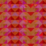 Fondo geométrico abstracto del desigm del vector Foto de archivo libre de regalías