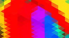 Fondo geométrico abstracto del triángulo, arte, artístico, brillante, colorido, diseño Modelo para el anuncio del negocio, follet libre illustration