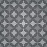 Fondo geométrico abstracto del vector con el ornamento del techno Foto de archivo