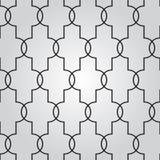 Fondo geométrico abstracto del vector con el ornamento del techno Foto de archivo libre de regalías