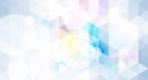 Fondo geométrico abstracto en color azul claro Fotografía de archivo libre de regalías