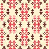 Fondo geométrico abstracto en estilo étnico ilustración del vector