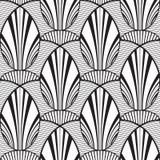 Fondo geométrico abstracto inconsútil de la flor Foto de archivo libre de regalías