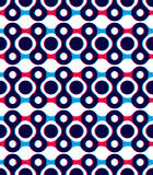 Fondo geométrico abstracto, modelo inconsútil, backgrou del vector Foto de archivo