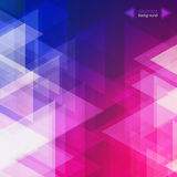 Fondo geométrico abstracto para el negocio, el diseño web, la impresión o la presentación Foto de archivo
