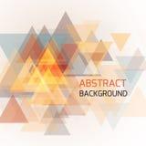 Fondo geométrico abstracto para el negocio o la presentación Fotos de archivo libres de regalías