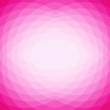 Fondo geométrico abstracto rosado del mosaico del triángulo, estilo polivinílico bajo Foto de archivo libre de regalías