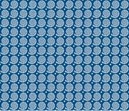 Fondo geométrico azul del vector Fotos de archivo libres de regalías