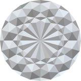 Fondo geométrico blanco de la textura 3d Vector Imagenes de archivo