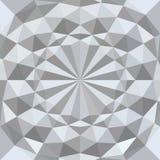 Fondo geométrico blanco de la textura 3d Vector Fotografía de archivo