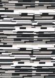 Fondo geométrico blanco y negro. imagen de archivo