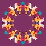 Fondo geométrico circular Fotos de archivo libres de regalías