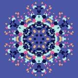 Fondo geométrico circular Foto de archivo