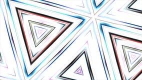 Fondo geométrico coloreado de los triángulos Fotografía de archivo libre de regalías