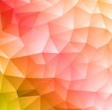 Fondo geométrico colorido abstracto Fotografía de archivo