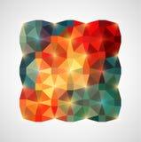 Fondo geométrico colorido abstracto Ilustración del vector Fotografía de archivo libre de regalías