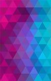 Fondo geométrico colorido abstracto Ilustración del vector Fotos de archivo libres de regalías