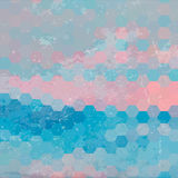 Fondo geométrico con textura del grunge Imagen de archivo