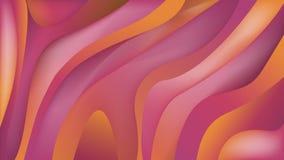 Fondo geométrico de la pendiente líquida del extracto de la elegancia Formas flúidas coloridas Composición de moda de la pendient libre illustration