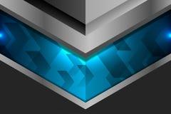 Fondo geométrico de la plantilla Imagen de archivo libre de regalías