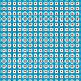 Fondo geométrico de la tela del modelo de la tela escocesa azul abstracta Imágenes de archivo libres de regalías
