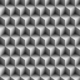Fondo geométrico de los cubos   Imágenes de archivo libres de regalías